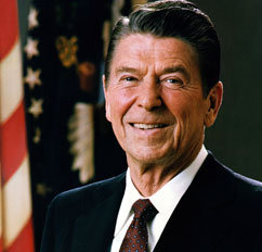 Ronald Reagan endorses Teen Challenge